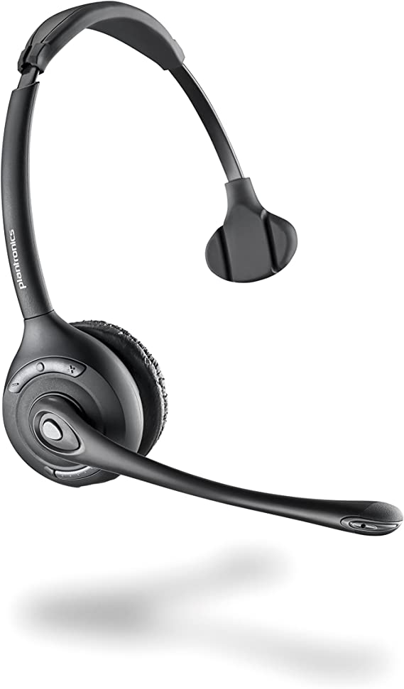 Plantronics W710a Ersatz Ein Ohr Headset Mit Clip Für Elektronik