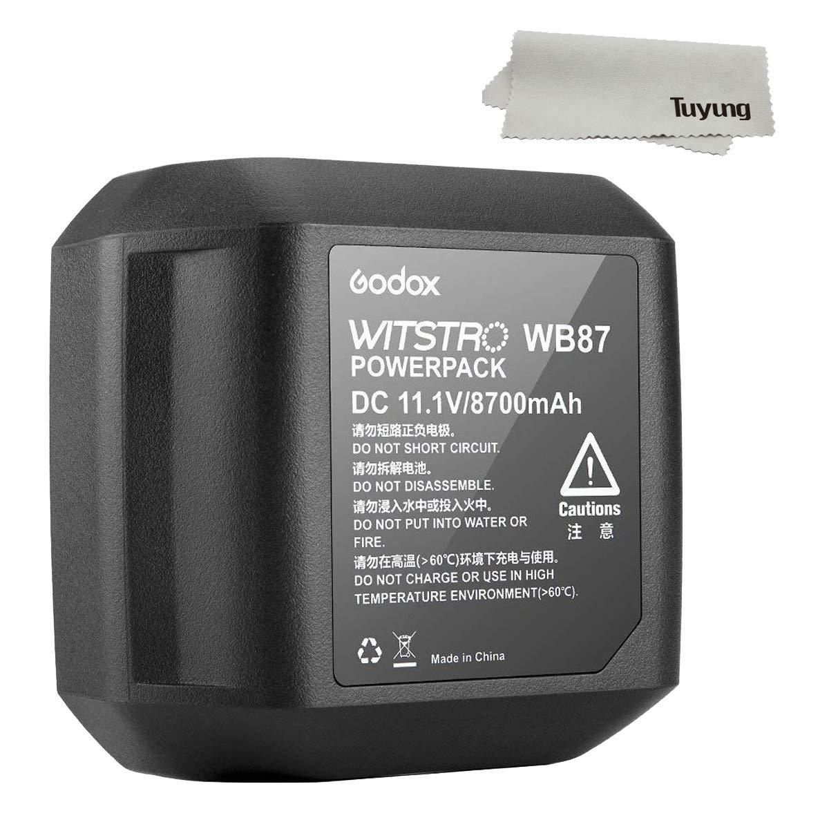 Godox Battery Pack 11.1V 8700mAh for AD600 AD600B AD600BM AD600M Studio Flashes by Godox