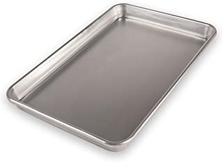 product image for USA Pan Bare Aluminum Bakeware 1040JR-BB Jelly Roll Baking Pan Warp-Resistant, Rust-Proof Bakeware