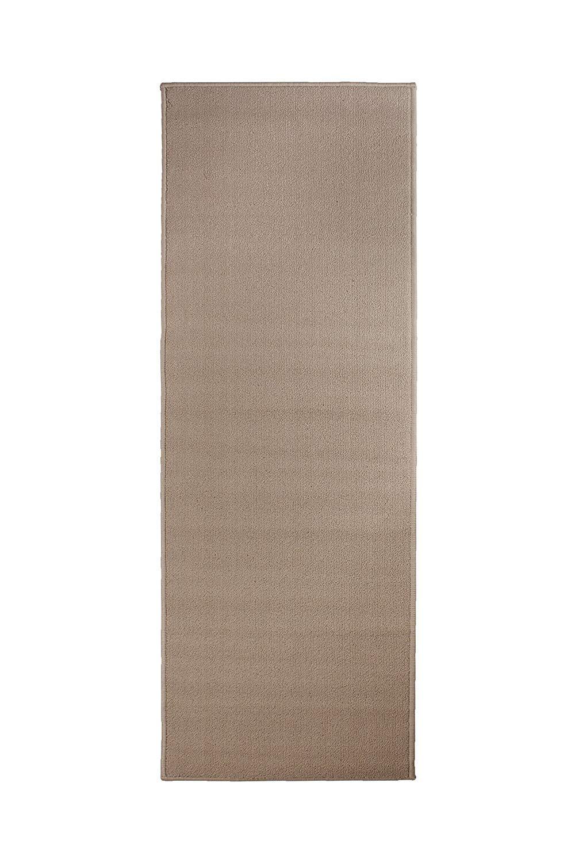 Ritz Accent Door Rug Runner with Non-Slip Latex Backing, 20-Inch by 60-Inch Kitchen & Bathroom Runner Rug, Beige