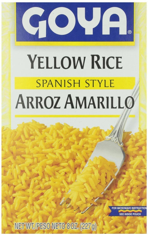 Goya Rice Mix Yellow 7 Oz Pack of 6