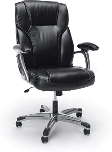 OFM ESS Collection High-Back Bonded Leather Executive Chair
