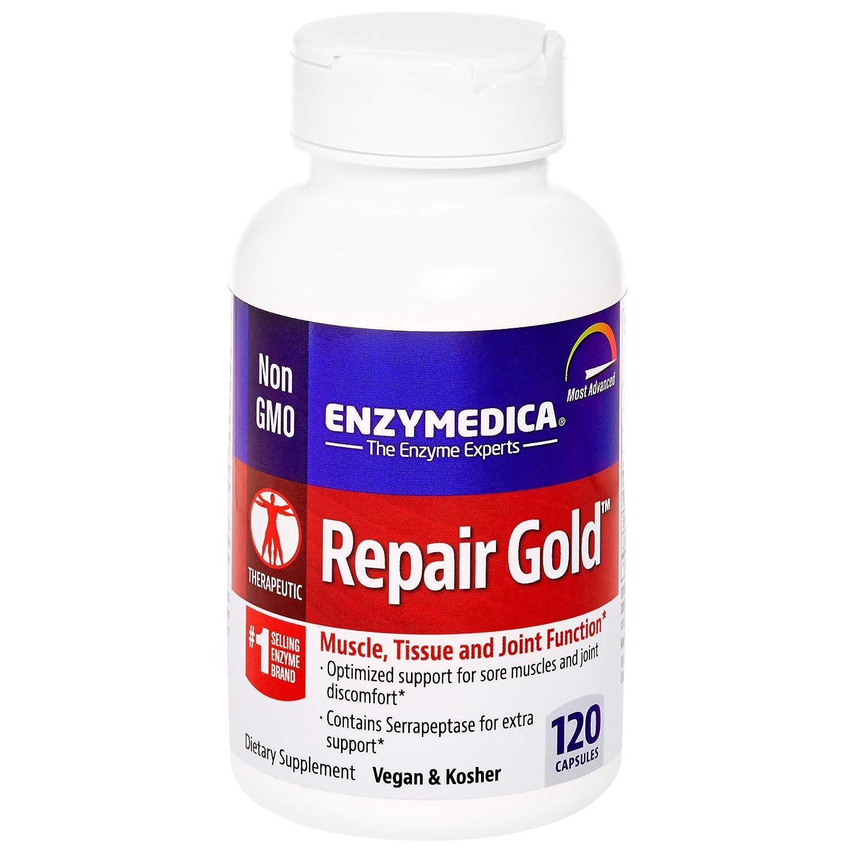 Amazon.com: Enzymedica – Reparación Oro, 120: Health ...