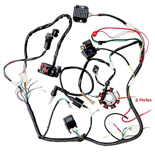 Amazon Com Wiring Harness Kit Wire Loom