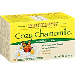 Bigelow Cozy Chamomile Herb Tea (3x20 bag)