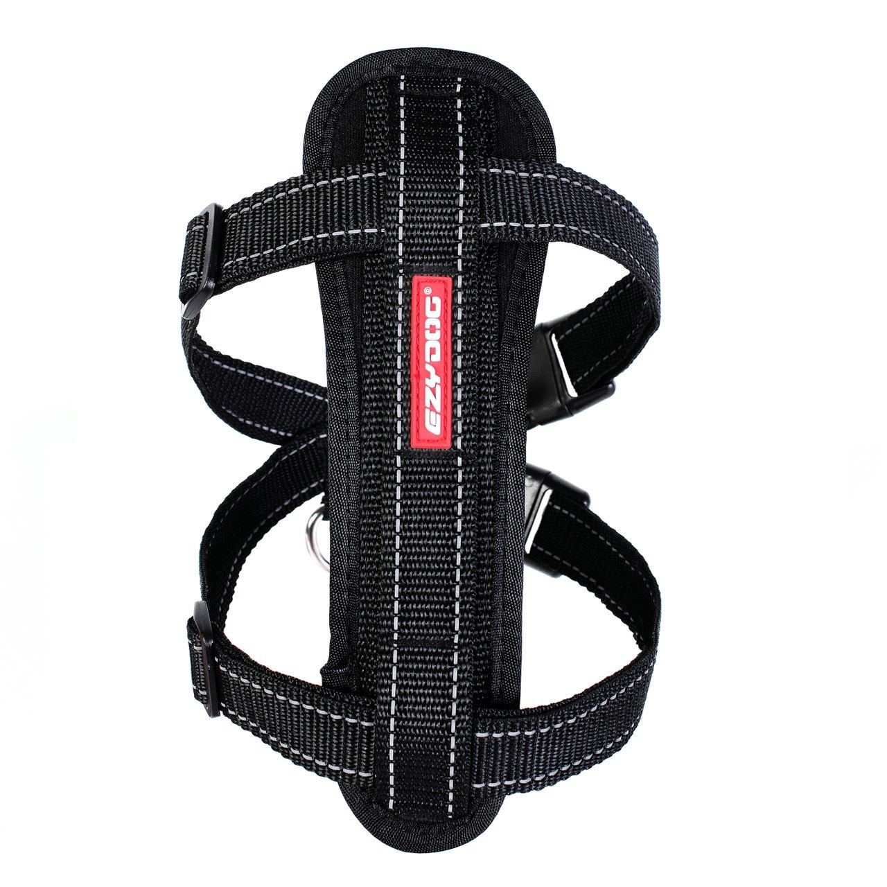 Chest Plate Harness Extra Large Black EzyDog Dog Harness