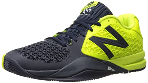 New Balance Herren 996v2 Tennis Shoe, BlueYellow, 49 EU