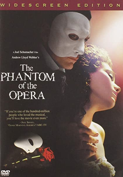 The Phantom Of The Opera Widescreen Edition Gerard Butler Emmy Rossum Patrick Wilson Miranda Richardson Minnie Driver Simon Callow Ciarán Hinds Andrew Lloyd Webber Charles Hart Richard Stilgoe Gaston Leroux Joel