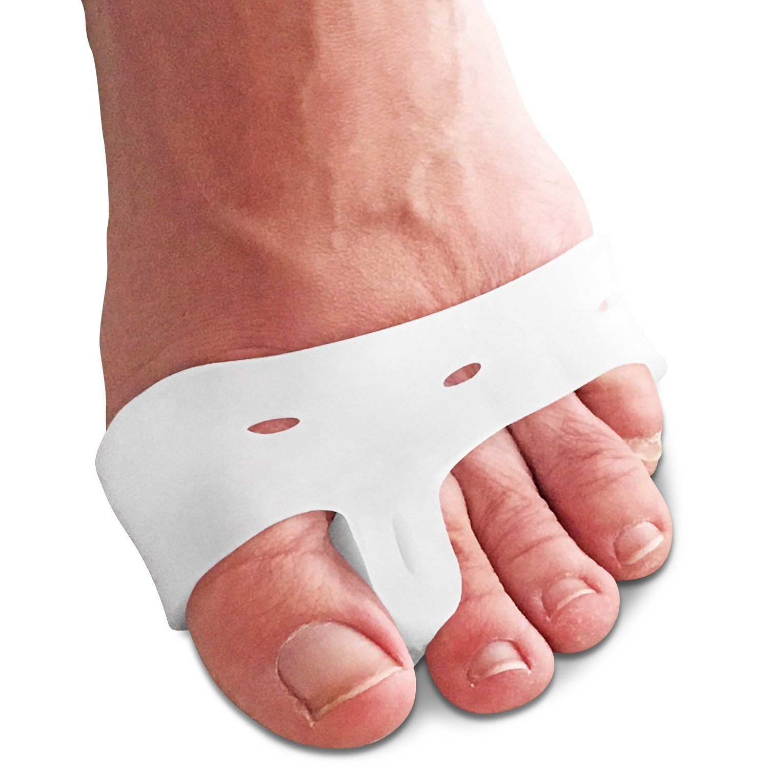 ... Separators Hammer Toe Straighteners Big Toe Relief Toe Spacers Set 1 Pair Gel Spreaders to Correct Toes in Shoes 1 Pair Bunion Protector Sleeves for Men ...