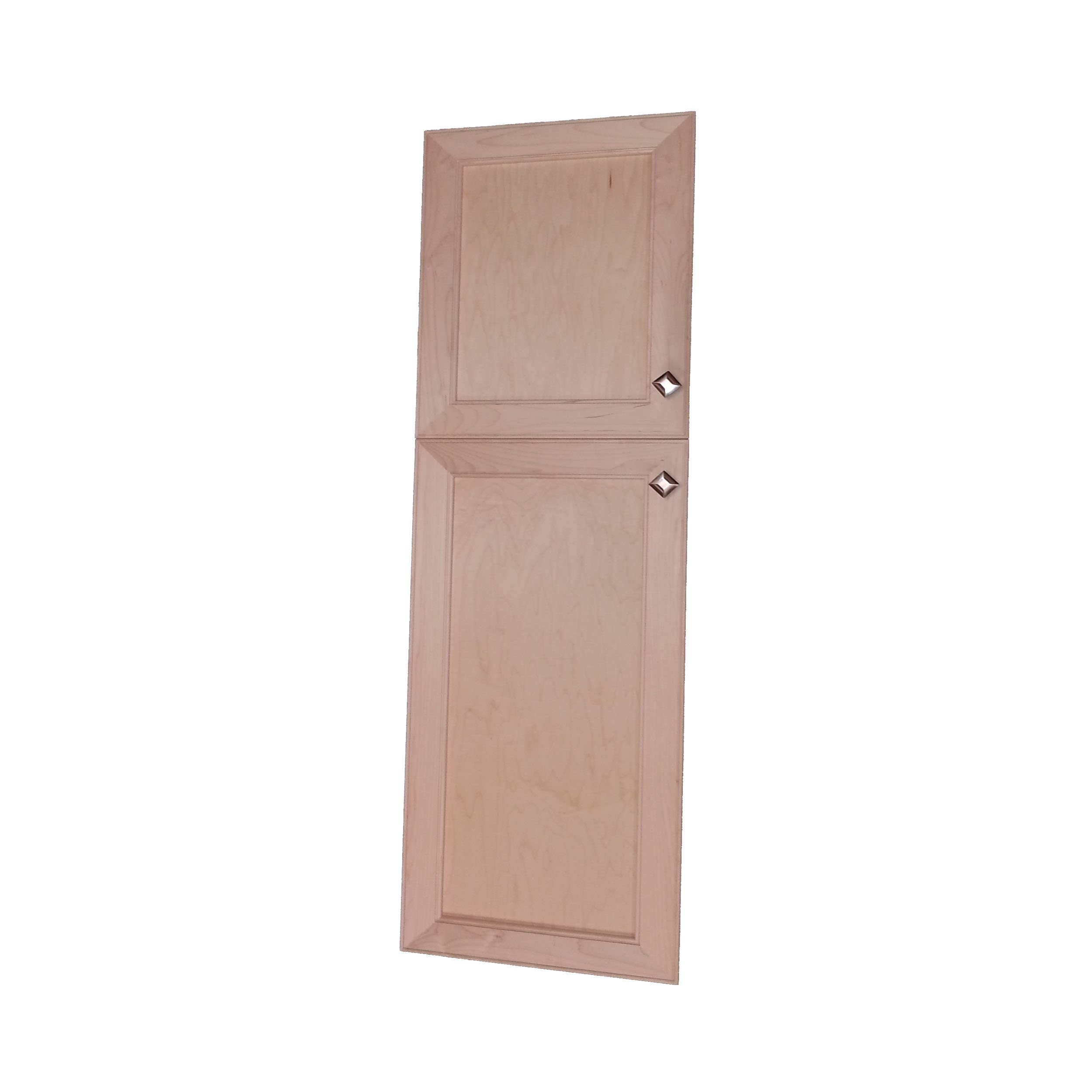 Wood Cabinets Direct MAX-SQ-248-2DRP-18/30 Direct Maxwell Recessed Two Door Frameless 18/30 Pantry Cabinet, 48''