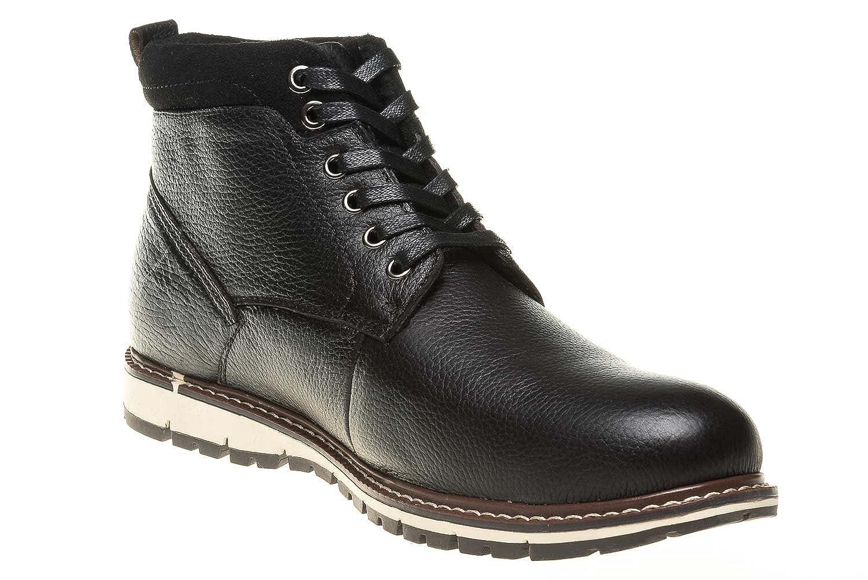 Boras Stiefel Stiefel Stiefel in Übergrößen Schwarz 6005-0001 große Herrenschuhe f2aa97