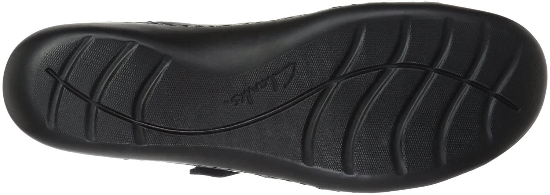 Clarks Donna Donna Donna  Ashland Spin Q Slip-on Loafer, Navy, 9.5 W US 11e352