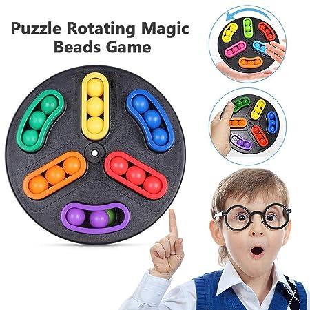 iBàste Perlas mágicas giratorias, Juguetes educativos para niños ...