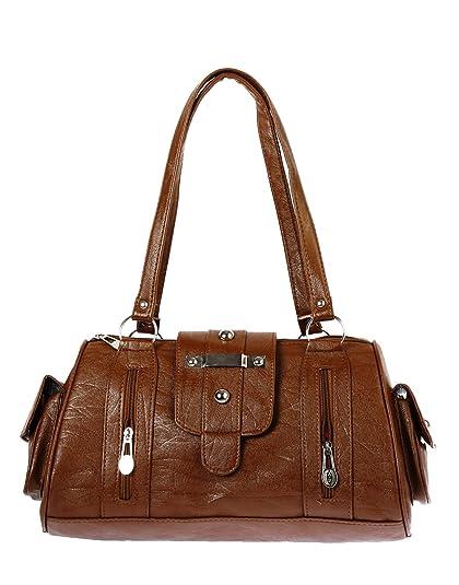 5ffe1a3ed8 Bagizaa Women s Handbag (Brown