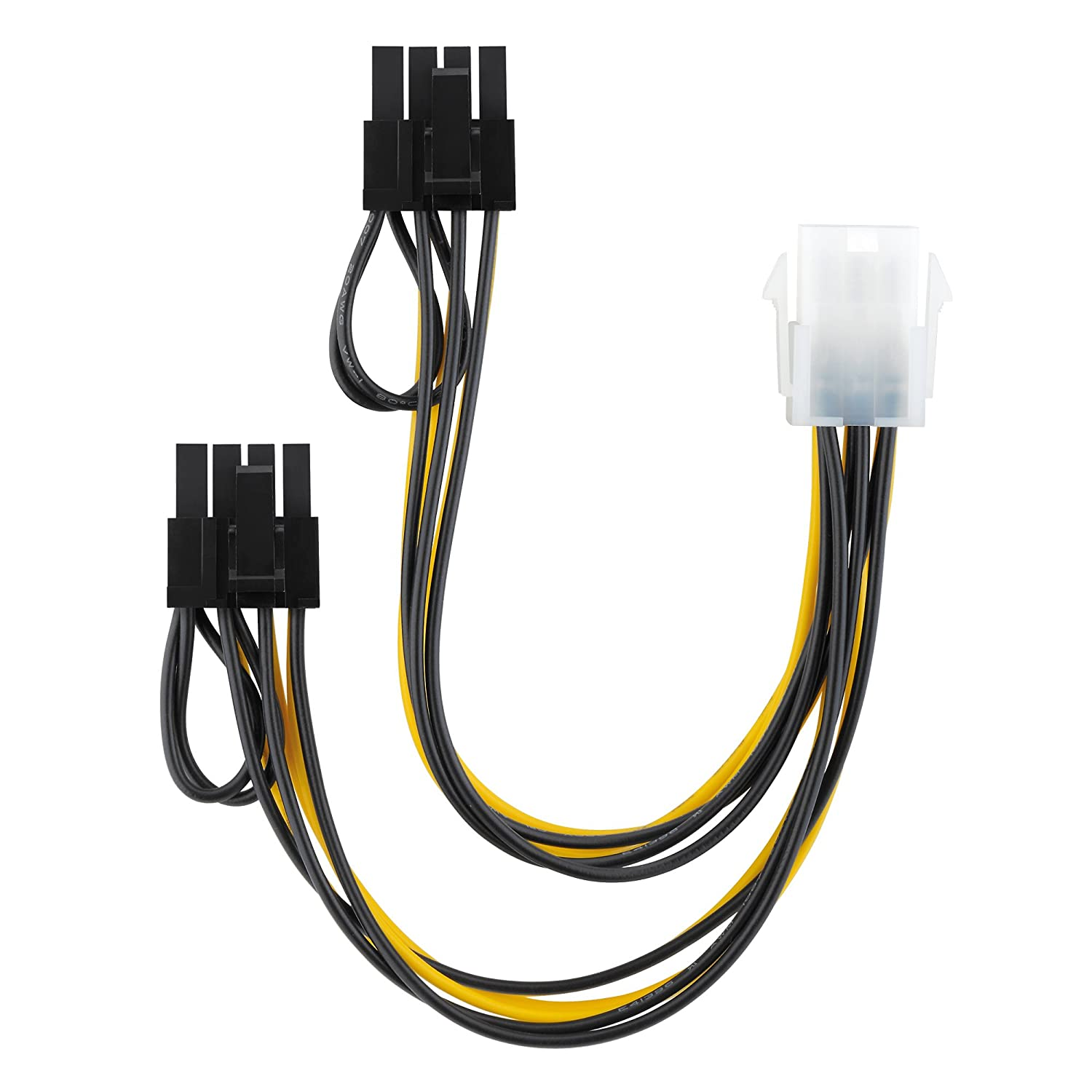 conecto CC20020 Power Adapter Cable for Graphics Card Black 60 cm CC20024