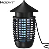 Hoont Powerful Electronic Indoor Bug Zapper – Covers 600 Sq. Ft. / Fly Killer, Insect Killer, Mosquito Killer – For Residential, Commercial and Industrial Use