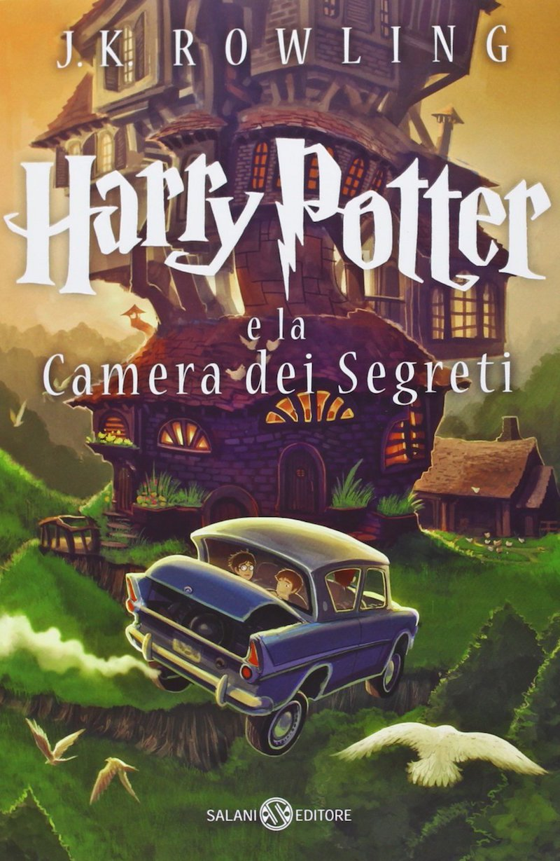 Harry Potter e la Camera des Segreti (Italian Edition of Harry Potter and the Chamber of Secrets)
