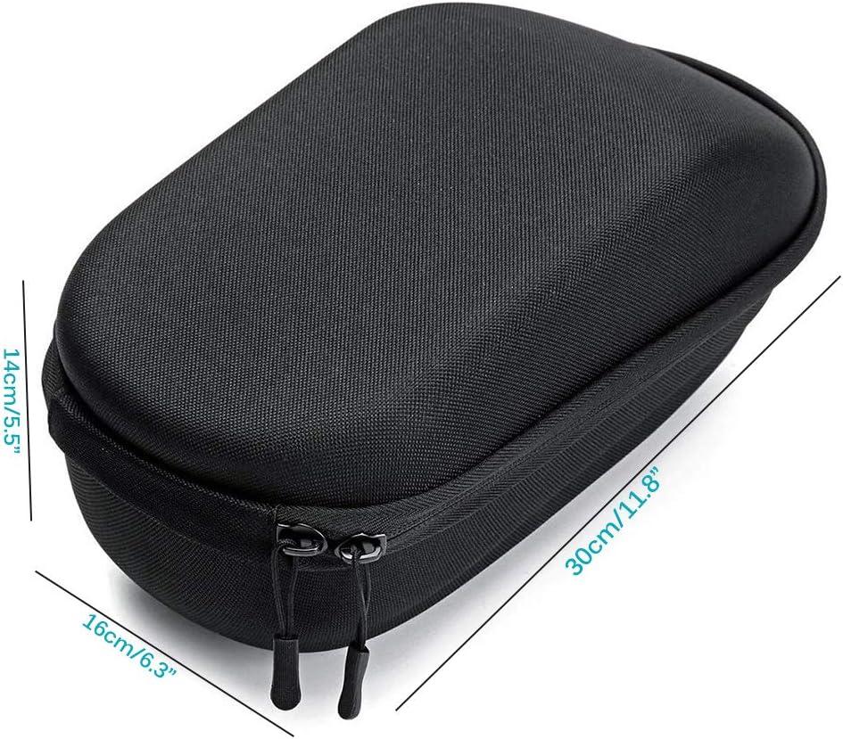 Bolsa De Manillar De Almacenamiento Impermeable para Scooter El/éctrico De Gran Capacidad para Xiaomi M365 Y Bicicleta Negro DEBEME Bolsa De Tubo Frontal para Scooter