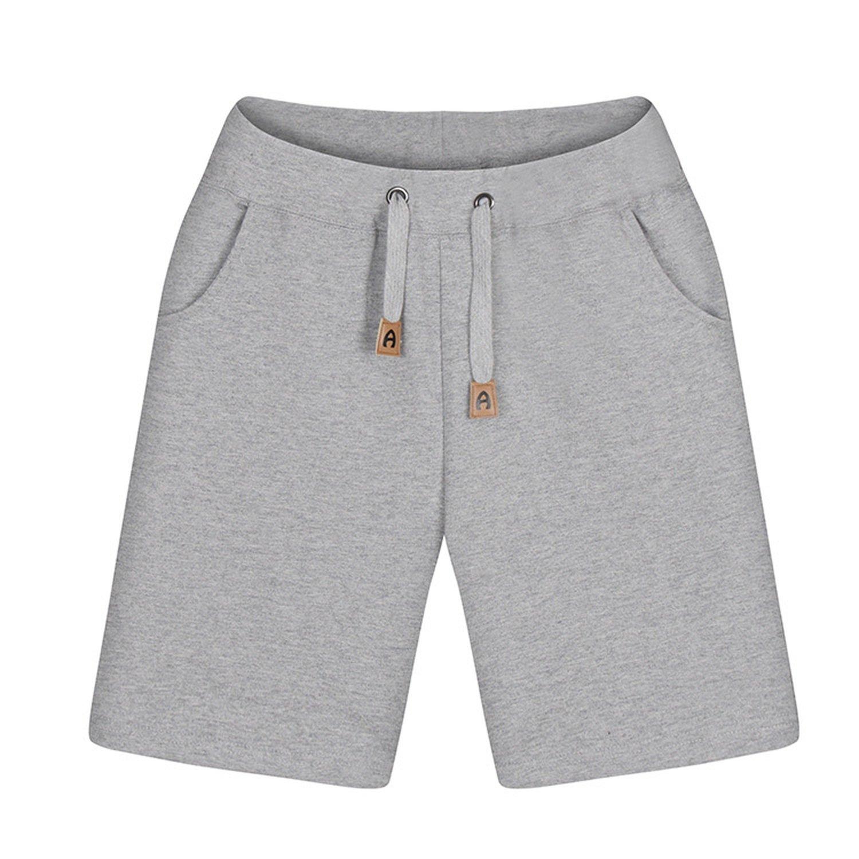 Hyunong 2018 Summer Men's Casual Sports Shorts Five Pants Couple Men and Women Beach Pants Hot Shorts,Men's Grey,XXL