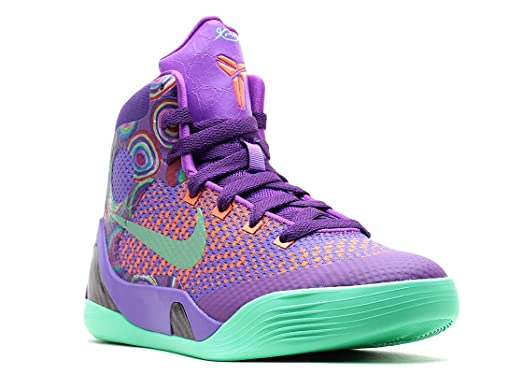 new product 2e4f6 99a06 netherlands nike kobe ix 9 elite gs purple venom size 7y 70084 38804