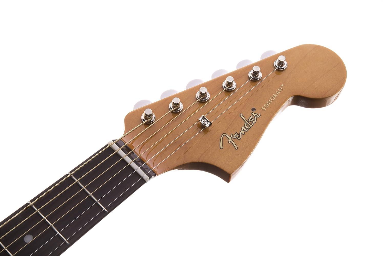 Fender 0968604021 Sonoran SCE Guitarra eléctrica natural con cabezal a juego: Amazon.es: Instrumentos musicales