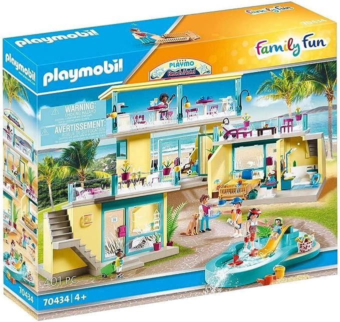 PLAYMOBIL® Family Fun 70434 PLAYMO Beach Hotel: Amazon.es: Juguetes y juegos