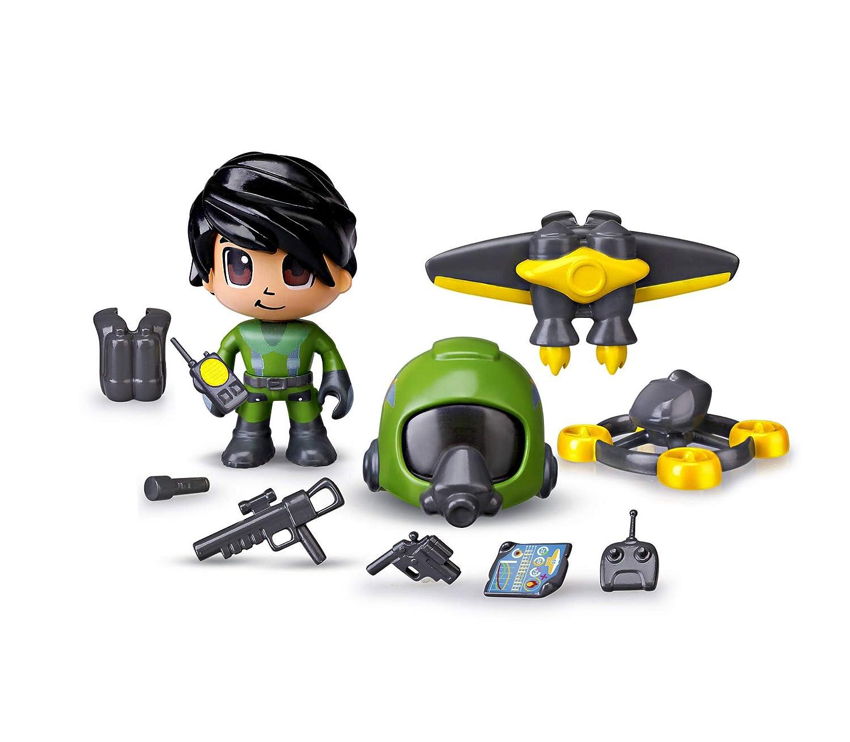Pinypon Action- Jet Pack, 1 Figurita con Accesorios, Multicolor ...
