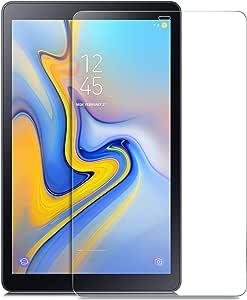 Samsung Galaxy Tab A 10. واقي شاشة زجاجي مقوى 10. 5 واقي شاشة HD لجهاز Samsung Galaxy Tab A 10. 5 2018 SM-T590(واي فاي) & SM-T595(LTE) Tablet
