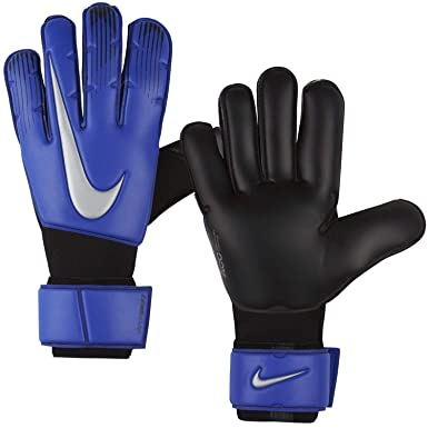 146512f4a Nike Adult Vapor Grip 3 Soccer Goalkeeper Gloves(Blue/Black/Silver,8