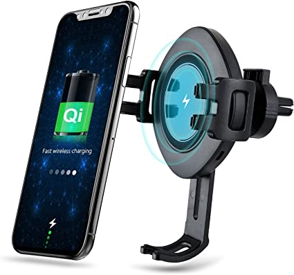 S7//S7 Edge White Note 8 5 /& Standard Charge for iPhone X LLSLY Lian LifeStyle Qi Wireless 3 In 1 Fast Charge Car Mount for Samsung Galaxy S8 8//8 Plus /& Qi Enabled Devices IW12