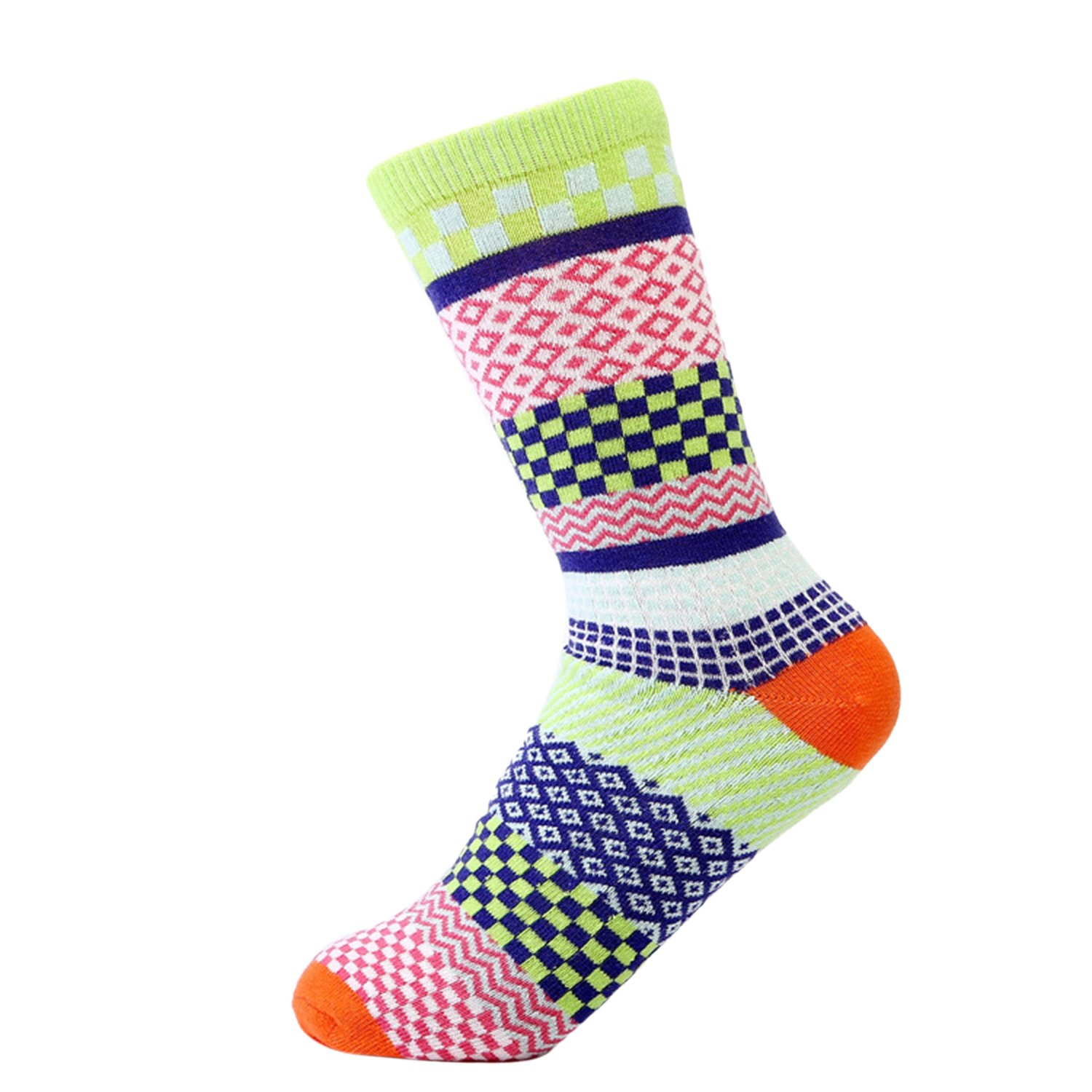 3 Pairs Marijuana Weed Leaf Warm Cotton High Sport Socks One Size