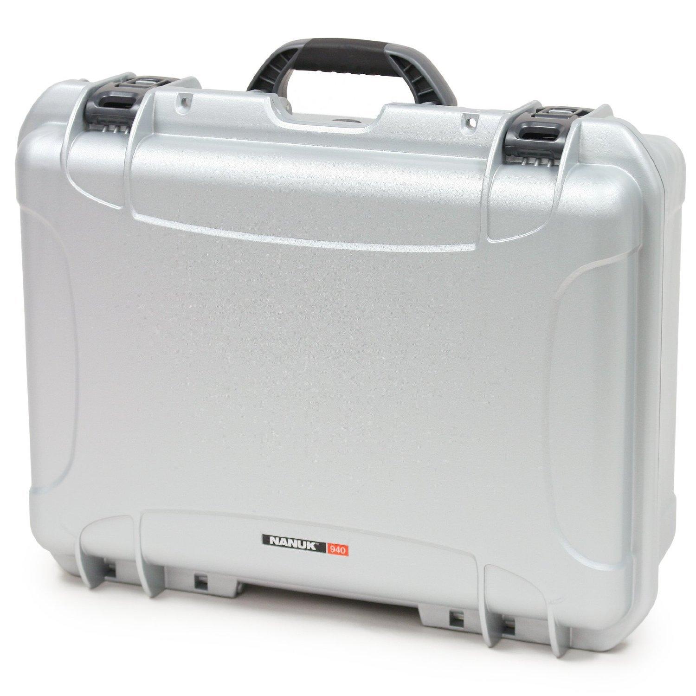 Nanuk 940 Case with Padded Divider (Silver) [並行輸入品]   B019SZ62OA