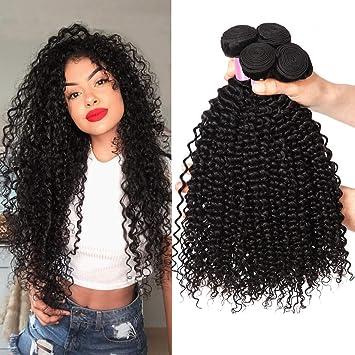 8A Tissage Bresilien Boucle Tissage Bouclé Naturel Tissage Bresilien Kinky  Curly Hair Cheveux Naturel Bresilienne Meches 0d89c3c3579