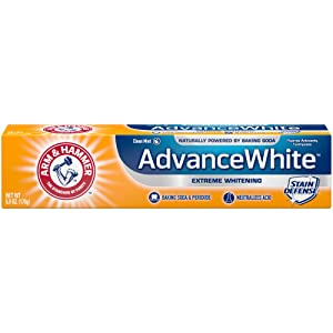 Arm & Hammer Advance White Extreme Whitening Toothpaste, 6 oz. (Pack of 12)