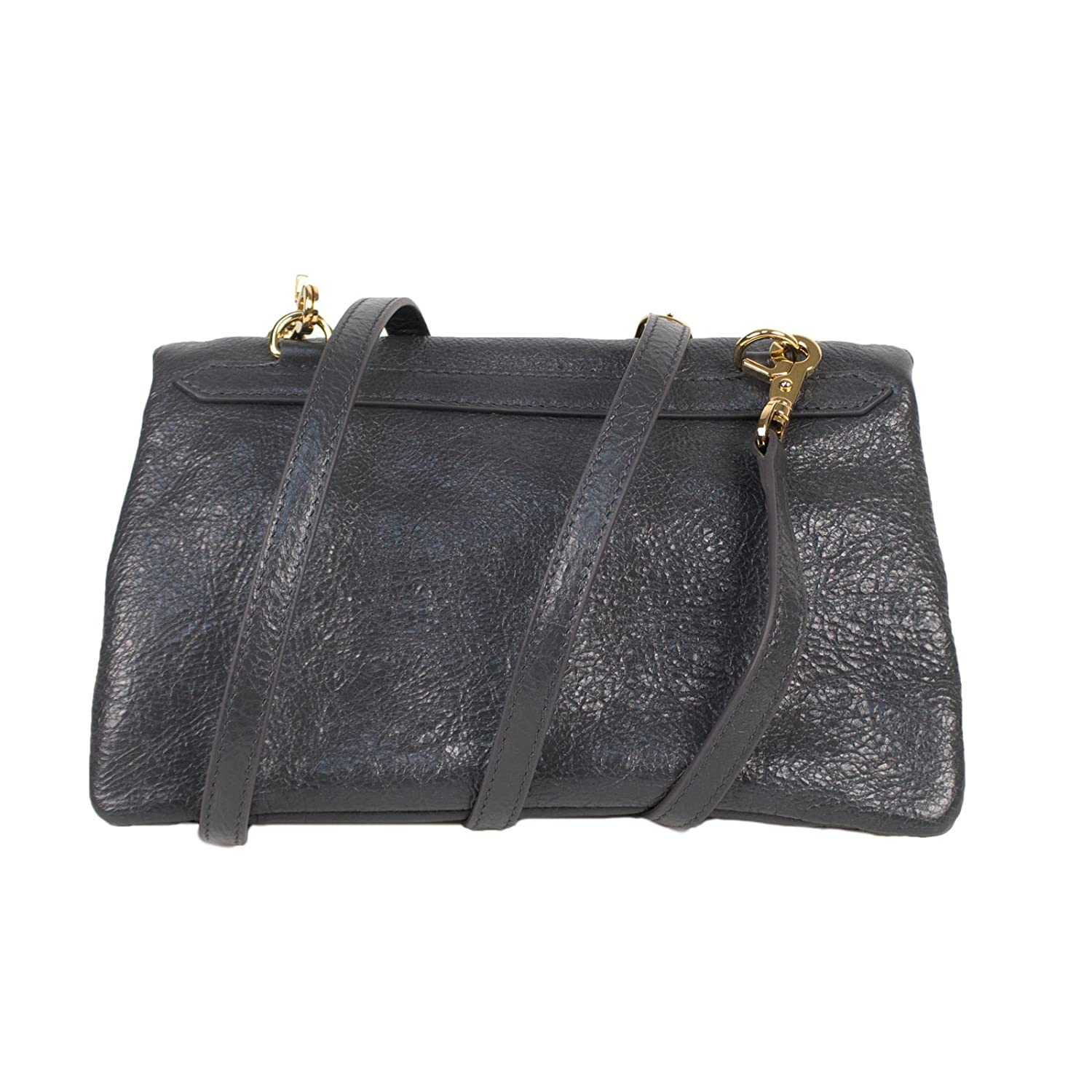 d1b1ff18e54 Amazon.com : Balenciaga Gray Leather Classic Mini Envelope Crossbody Bag :  Baby