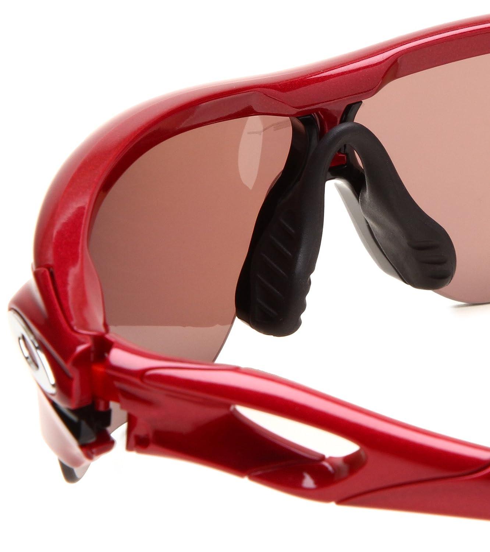 9545e421abe Oakley Women s Radarlock Edge Oo9183 Groupie Frame Oo Grey Polarized +  Clear Lens Plastic Sunglasses