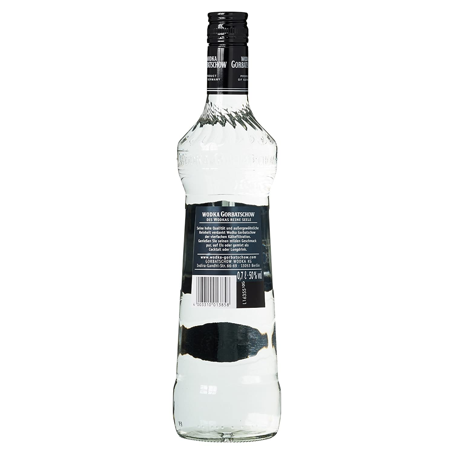 Gorbatschow Wodka 50% Vol. (1 x 0.7 l): Amazon.de: Bier, Wein ...
