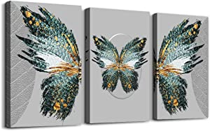 Canvas Wall Art for living room family bedroom Wall Decor modern wall decorations for office bathroom wall paintings Abstract the butterfly wall pictures Artwork Home Decoration 12