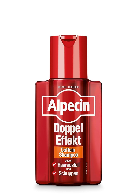 Alpecin Doppel-Effekt Coffein-Shampoo, 1 x 200 ml - Gegen erblich bedingten Haarausfall und Schuppen 139060