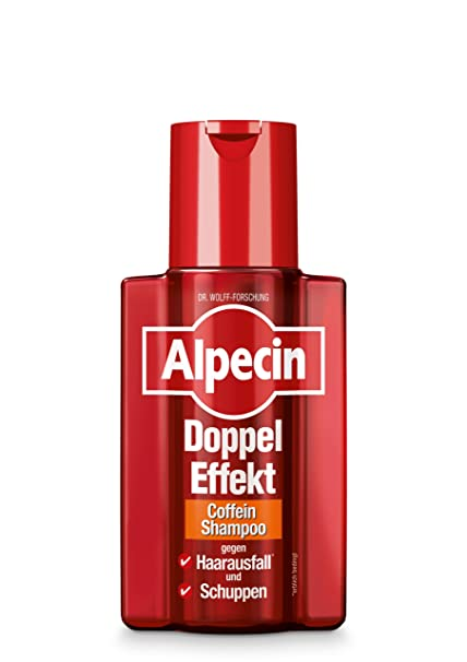 Alpecin 21051 Double Effect Shampoo Against Dandruff & Hair Loss 200 ml
