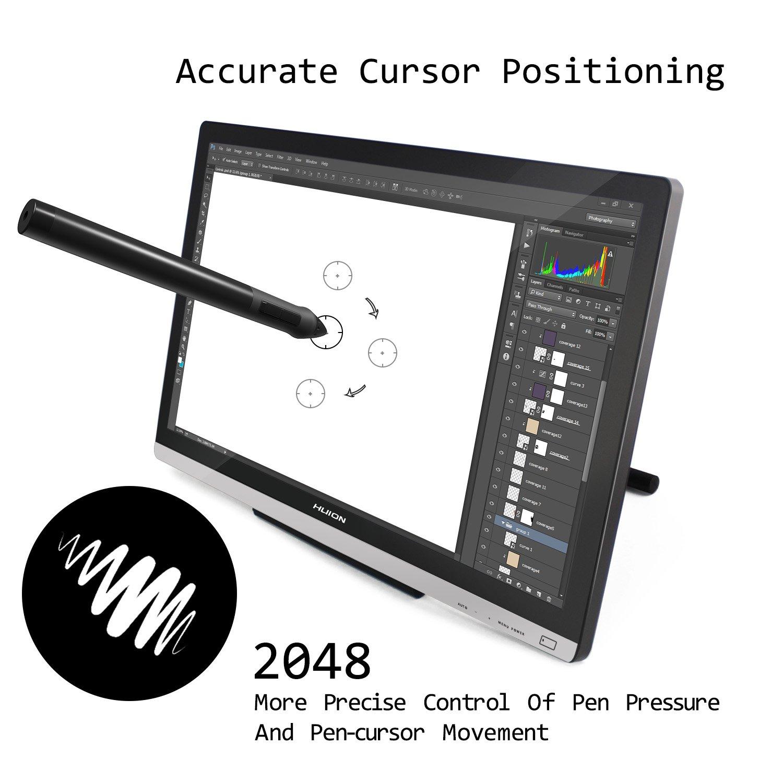 Amazon com: Huion 21 5 Inch Pen Display IPS Interactive Pen