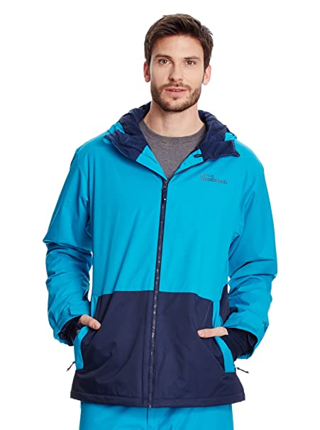 Westbeach Chaqueta de Snowboard Method Azul Claro M: Amazon ...