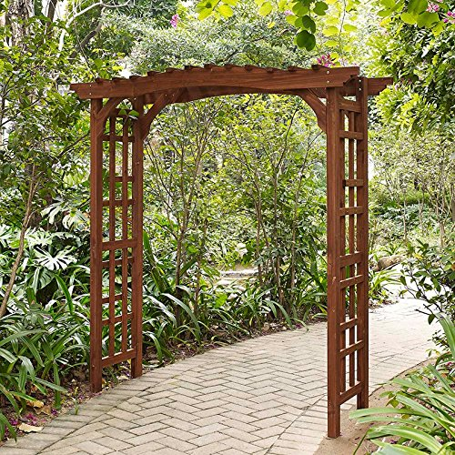 Halstead Wood Garden Arbor (Arches And Arbors)