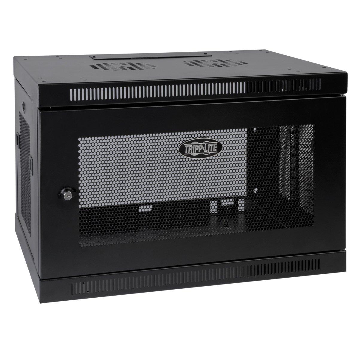 Tripp Lite 9U Wall Mount Rack Enclosure Server Cabinet, 16.5'' Deep, Switch-Depth (SRW9U)
