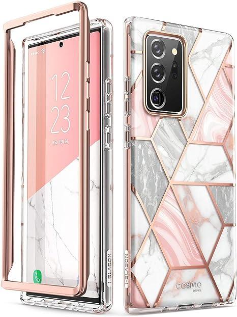 I Blason Glitzer Hülle Für Samsung Galaxy Note 20 Ultra 6 9 5g Handyhülle Bumper Case Glänzend Schutzhülle Cover Cosmo Ohne Displayschutz 2020 Ausgabe Marmor Elektronik