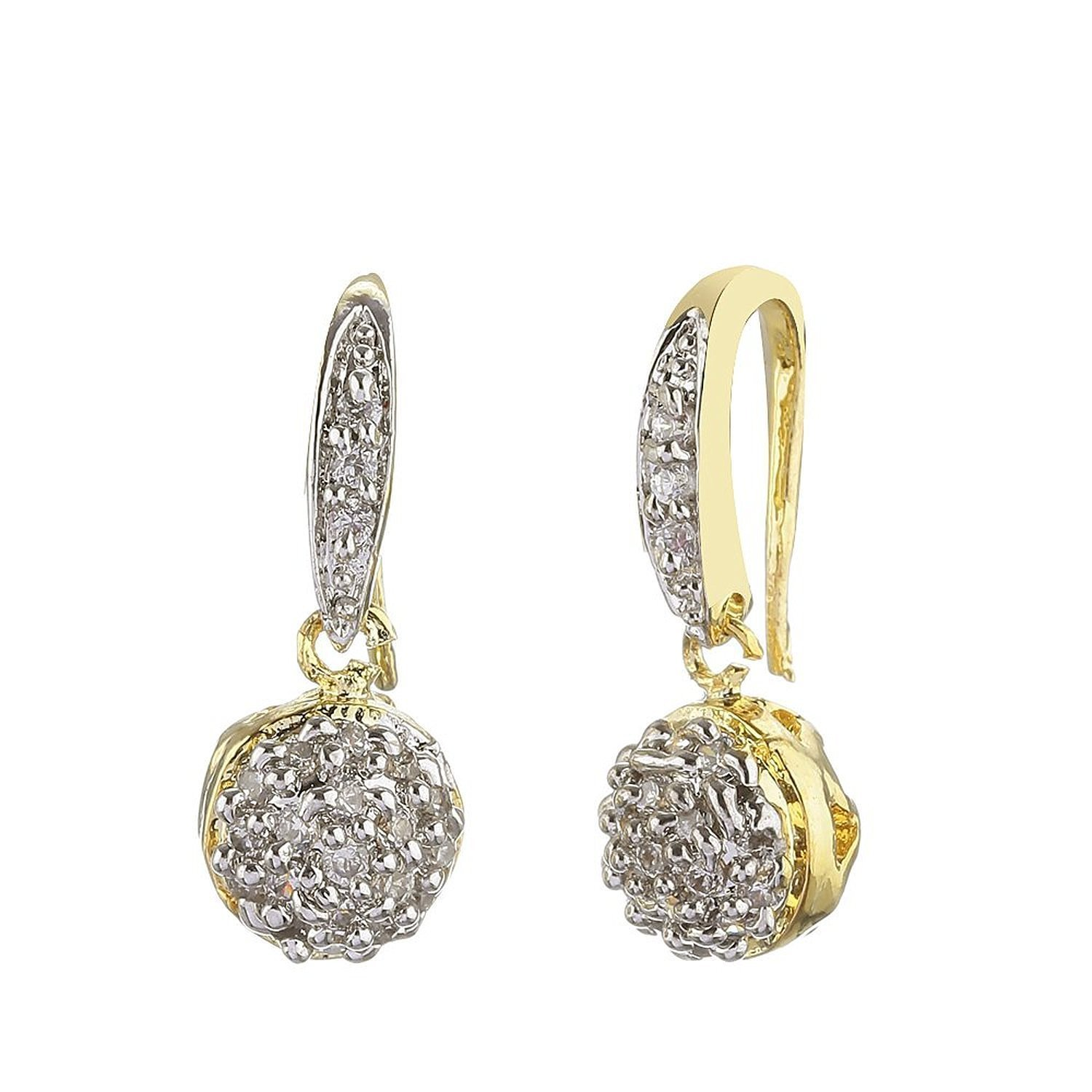 Buy YouBella Jewellery Gold Plated American Diamond necklace for ...