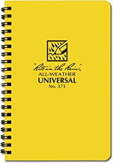 """product image for Rite in the Rain All-Weather Student Spiral Notebook, 5"""" x 7"""", 64 Pages"""