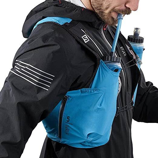 Salomon Speed Straw Pipeta para Soft Flask Azul Unisex Adulto 13 x 6 x 5 cm Talla /única