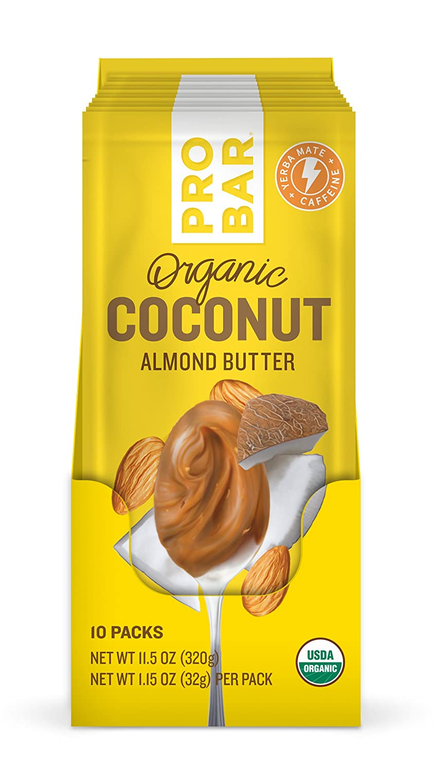 Amazon.com: PROBAR - Nut Butters - Almond Butter, Superfood, 10 Count - USDA Organic, Gluten Free, Organic Plant-Based Butter: Health & Personal Care