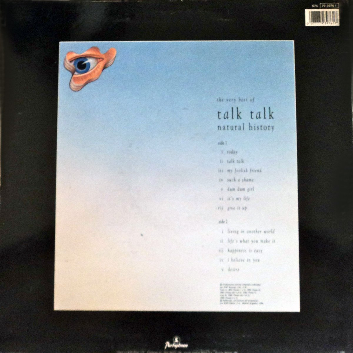 TALK TALK THE VERY BEST OF NATURAL HISTORY